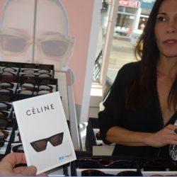 Celine designer eyewear trunk show Spectacle