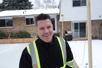 Keith Travers, DIY Backyard Ice Rink