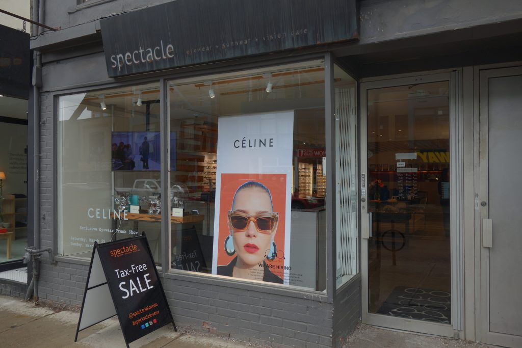 Spectacle Ext on 792 Queen St W