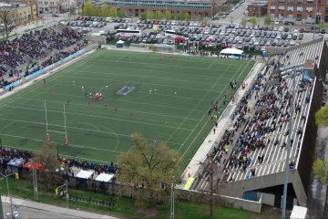 Rugby at Lamport Stadium - Toronto Wolfpack versus Oxford - 6 May 2017