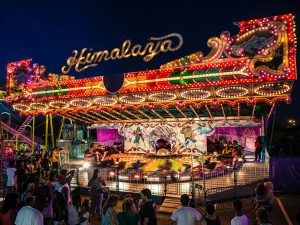 Himilaya ride at the Canadaian National Exhibition in Toronto