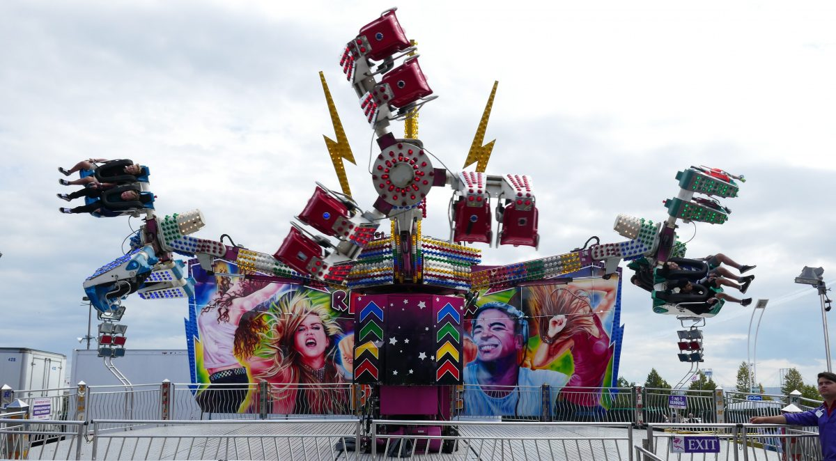 Remix ride at the EX