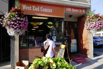 West End Comic Shop in Parkdale