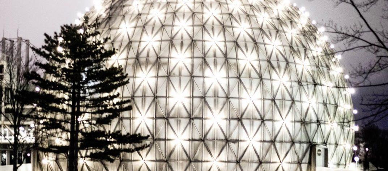 Ontario place dome art exhibit 2018