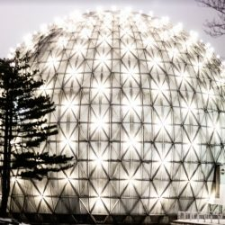 Ontario place dome art exhibit 2018