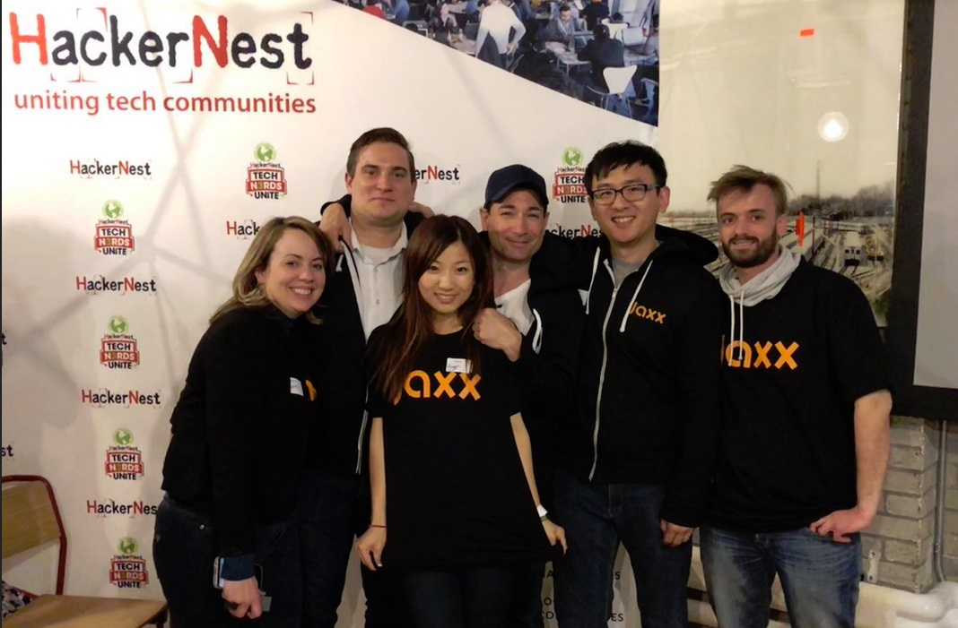 Jaxx io at Hackernest