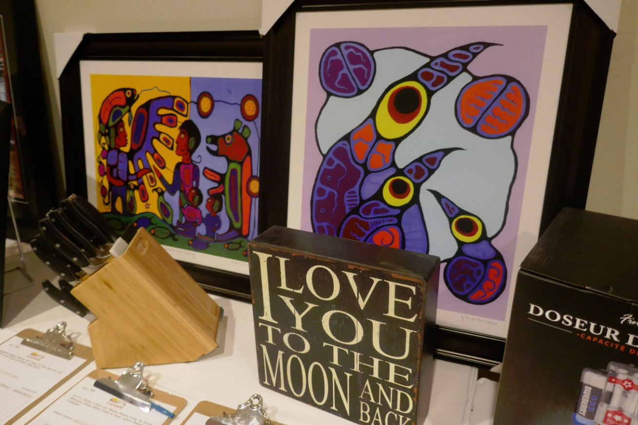 two Norval Morrisseau paintings in a silent auction - Toronto