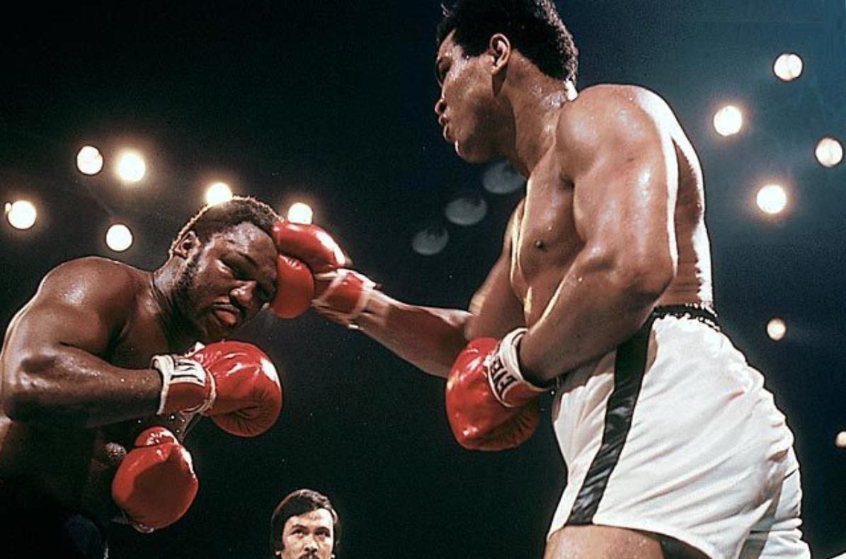 Thrilla in Manilla - Muhammed Ali vs Joe Frazier, 1975 in Phillipines