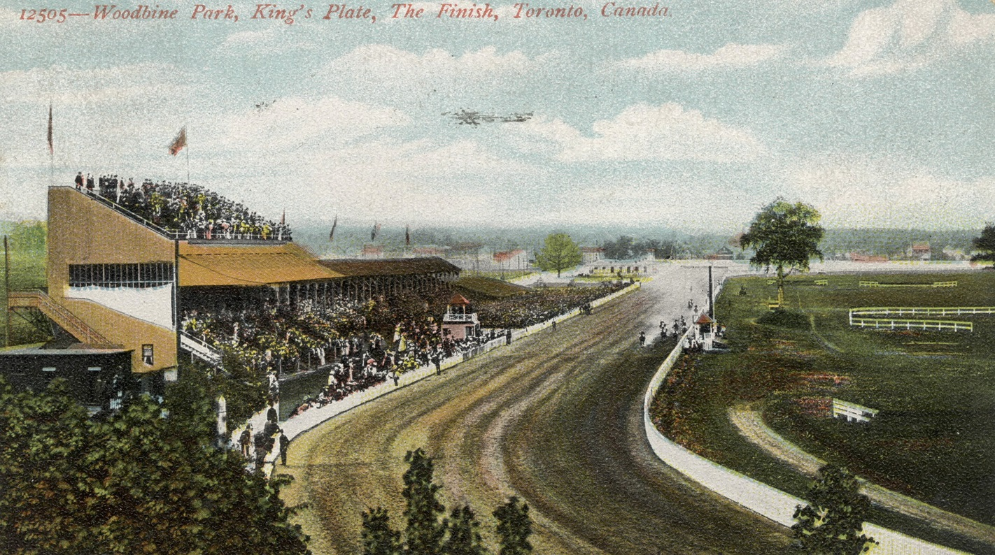 King's Plate 1906 at Greenwood Racetrack in Toronto - Archives