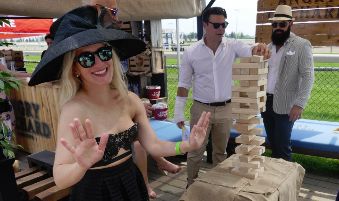 Jenga at the Greenwood Stakes 26 may 2018