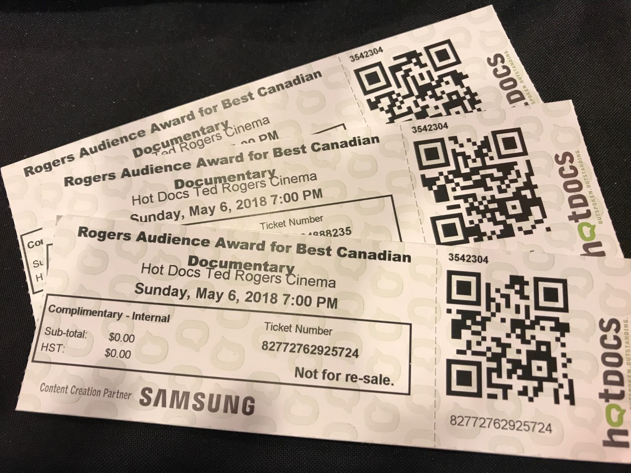 Rogers Audience Choice Awards tickets were a hot commodity at Hot Docs 2018
