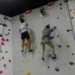 indoor rock climbing friendly competition at Hub Markham