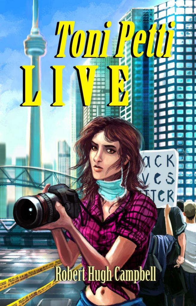 Toni Petti LIVE, book by Robert Hugh Campbell